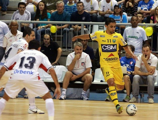 Jaraguá Joinville Liga Futsal (Foto: Beto Costa/CSM)