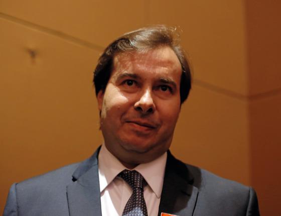 Rodrigo Maia presidente da Câmara (Foto:  Adriana Spaca/Brazil Photo Press/AFP)