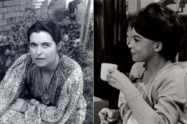 """A autora Lynne Reid Banks e Leslie Caron em uma cena de """"A Mulher que Pecou"""" (Foto: Reprodução/Divulgação)"""