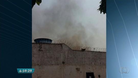 Rebelião deixa 10 presos feridos no presídio de Quirinópolis, em Goiás