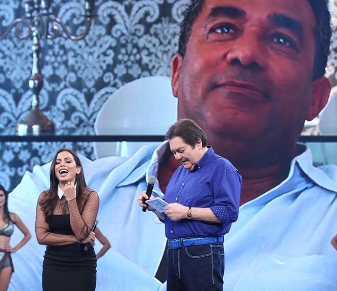 Pai de Anitta também deixou recado para cantora (Foto: Carol Caminha/Gshow)