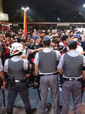 manifestação paulista (Foto: Marcelo Mora/G1)