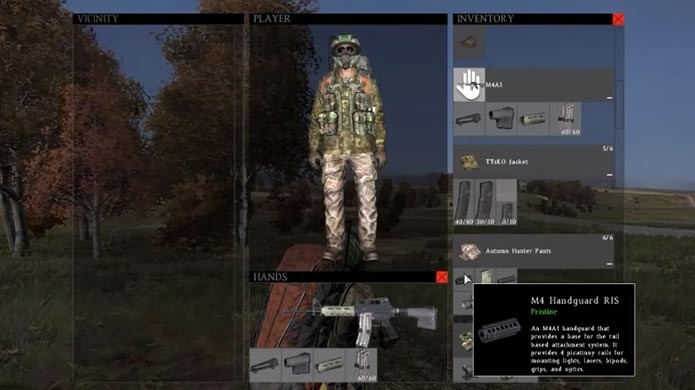 DayZ: como customizar seu personagem e suas armas (Foto: Divulgação)