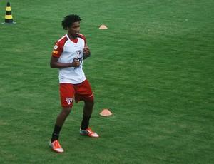 Cortez treino São Paulo (Foto: Marcos Guerra / Globoesporte.com)
