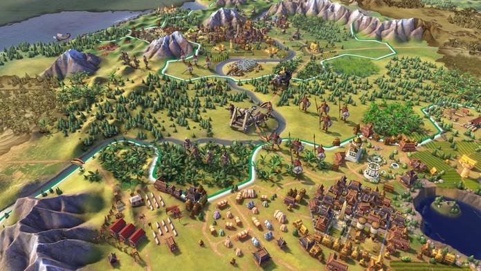 Civilization 6 foi uma das atrações da 2K na E3 (Foto: Divulgação/2K Games)