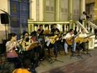 Grupo de Choro da UEA faz show no Casarão de Ideias, em Manaus