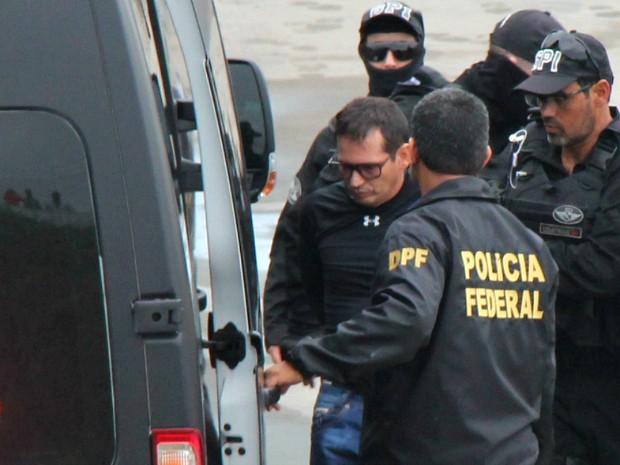 Ele foi detido no norte de Roraima, na manhã de quinta-feira (25) (Foto: Jamile Alves/G1 AM)