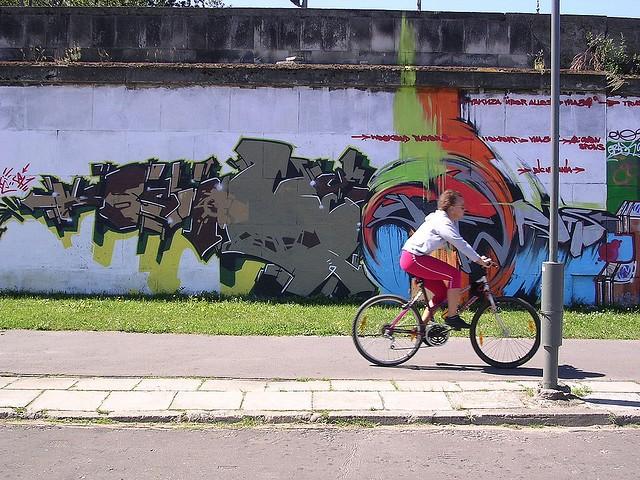 Varsóvia e suas diversidades culturais na parede (Foto: Reprodução/Flickr)
