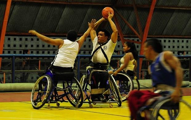 Basquete Cadeira Rodas Amazonas (Foto: Michael Dantas/Sejel)