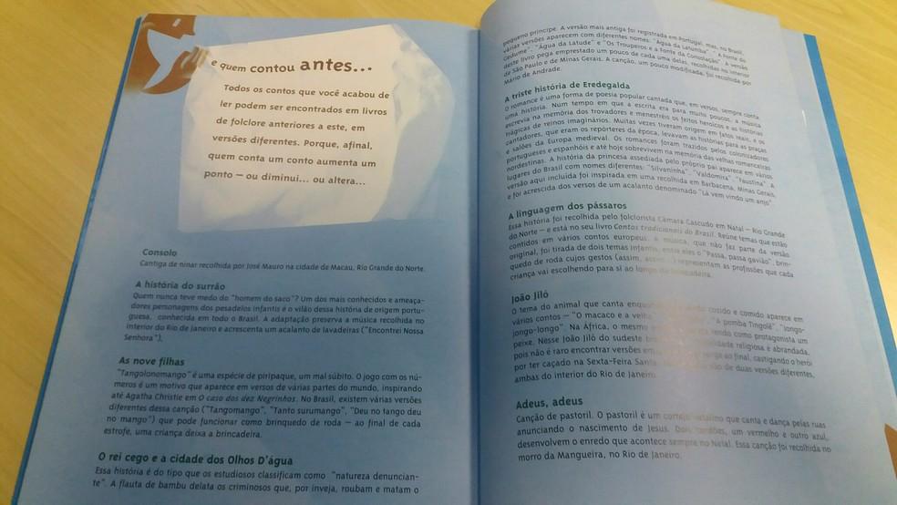 Livro reconta contos populares  (Foto: Cíntia Borges / Editora Rocco)