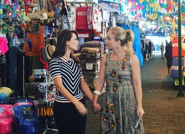 Mariana Ximenes e Angélica (Foto: Reprodução/Instagram)