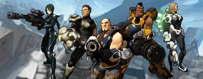Firefall possui cinco classes para jogar (Foto: Reprodução / pcgamer.com)