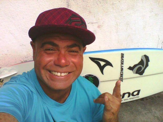 Surfista foi morto a tiros em Itanhaém, SP (Foto: Reprodução/Facebook)