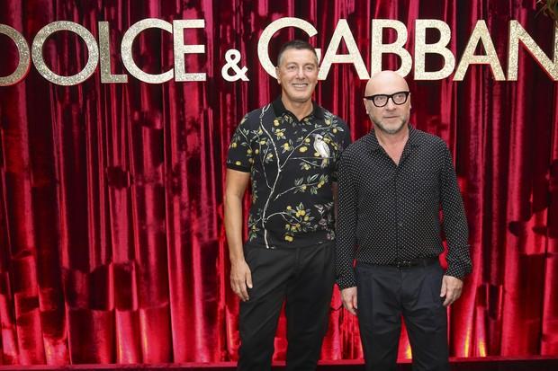 Domenico Dolce e Stefano Gabbana (Foto: Rafael Cusato e Manu Scarpa/Brazil News)