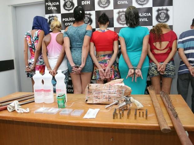 Travestis mataram 3 rivais em brigas por pontos de prostituição, diz polícia em Goiás (Foto: Divulgação/SSPAP)