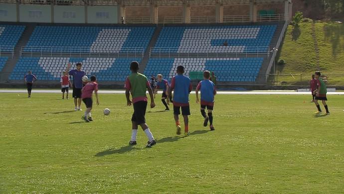 Projeto Futebol UFJF (Foto: Reprodução/TV Integração)