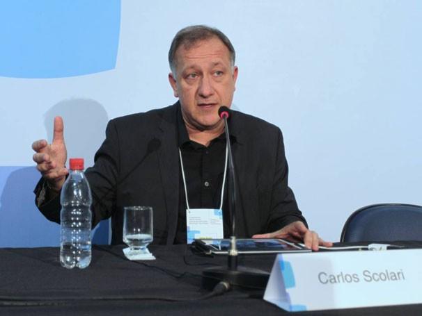 Carlos Scolari é professor do Departamento de Comunicação da Universidade Pompeu Fabra, em Barcelona (Foto: Globo/Paulo Uras)