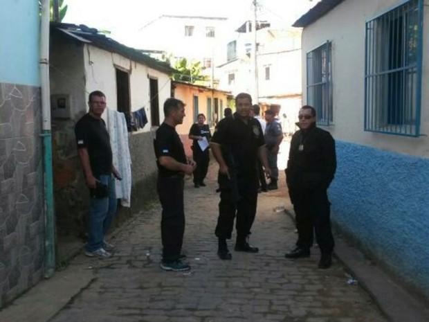 Operação aconteceu em Guaçuí, Sul do Espírito Santo (Foto: Reprodução/ TV Gazeta)