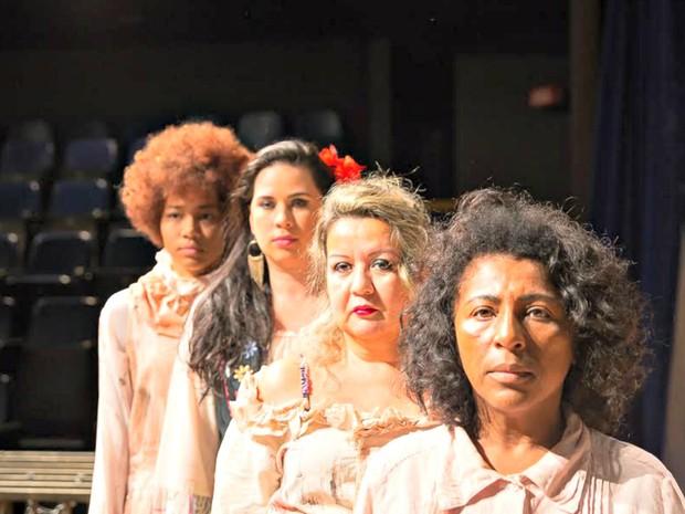 Espetáculo teatral As Mulheres de Aluá (Foto: Divulgação)