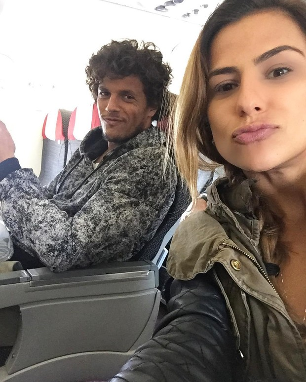 Paula Morais e o namorado, João Souza, o Feijão (Foto: Reprodução/Instagram)