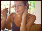 Luana Piovani mata a saudade de guloseimas após gravidez: 'Delícia'