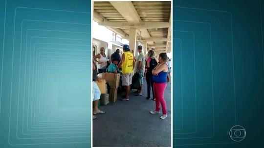Duas pessoas são baleadas na estação de trem de Gramacho, no RJ