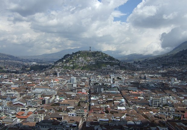 Quito, capital do Equador (Foto: Wikimedia Commons)