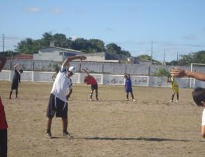 Botafogo-PB, treino sub-15 (Foto: Divulgação/BFC)