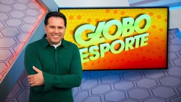 Marcelo Carvalho, apresentador do Globo Esporte local (Foto: Divulgação / TV Sergipe)