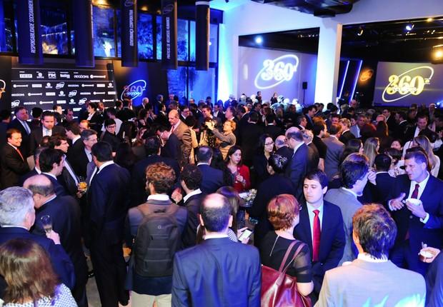 Antes da premiação, os convidados participaram de um coquetel (Foto: Rafael Jota/Editora Globo)