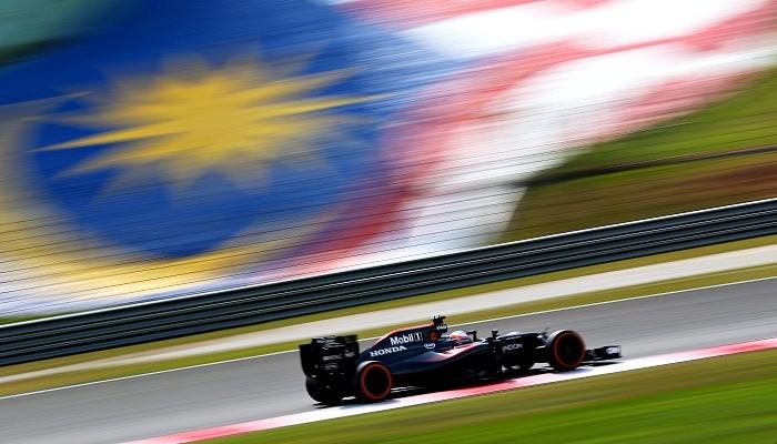 Fernando Alonso no GP da Malásia