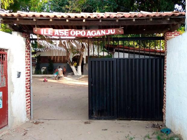 Terreiro de Pai Balbino fica em Lauro de Freitas, região metropolitana de Salvador (Foto: Alex Ferreira/Arquivo pessoal)