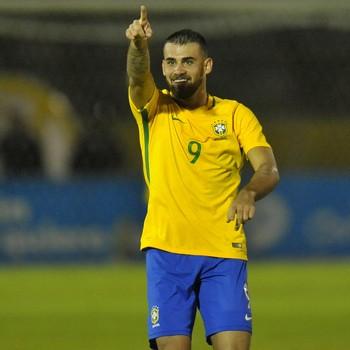 Felipe Vizeu, Brasil x Argentina, sub-20 (Foto: JUAN CEVALLOS / AFP)