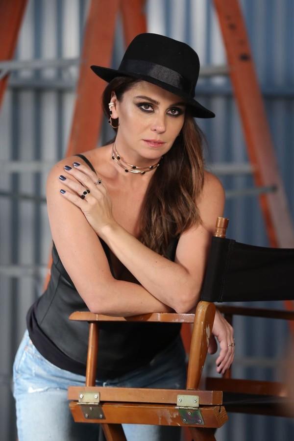 Giovanna Antonelli fotografa coleção You Rock, da Romannel (Foto: Divulgação)