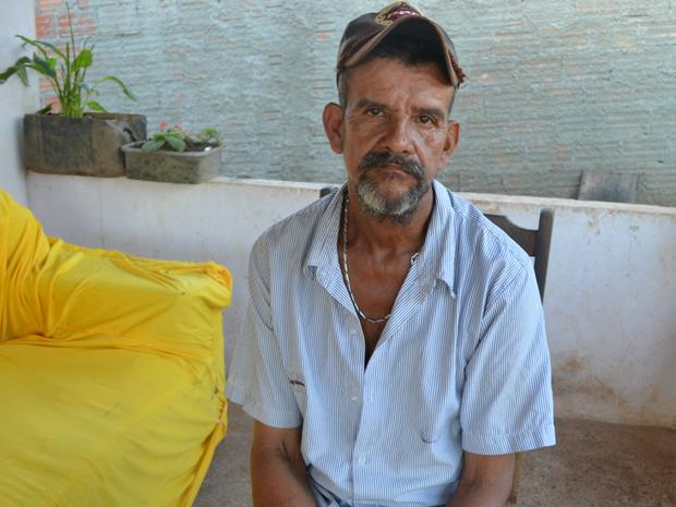 pai do vaqueiro espigão (Foto: Rogério Aderbal/G1)