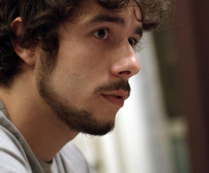 Luan deixa escapar detalhe sobre atropelamento de Ciça (Foto: TV Globo)