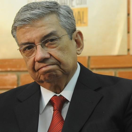 O ministro da Previdência Social, Garibaldi Alves, em foto de março de 2013 (Foto: José Cruz/ABr)