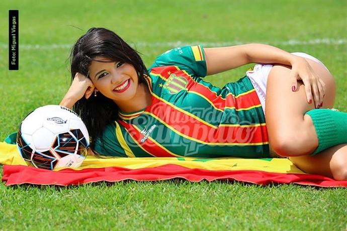 Anna Beatriz - musa Sampaio (Foto: Divulgação / Sampaio Corrêa)