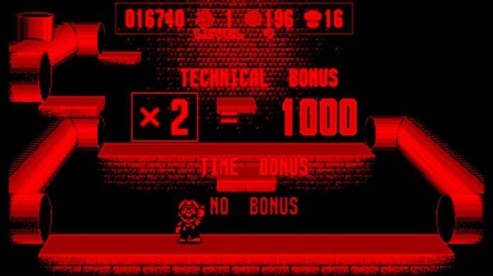 Mario Clash: jogo possuía uma grande limitação gráfica (Foto: reprodução/Youtube)