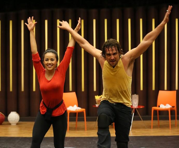 Igor Rickli e Suellem Morimoto querem voar alto no rock! (Foto: Isabella Pinheiro / Gshow)