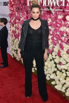 Ashley Tisdale em première de filme em Los Angeles, nos Estados Unidos (Foto: Kevin Winter/ Getty Images/ AFP)