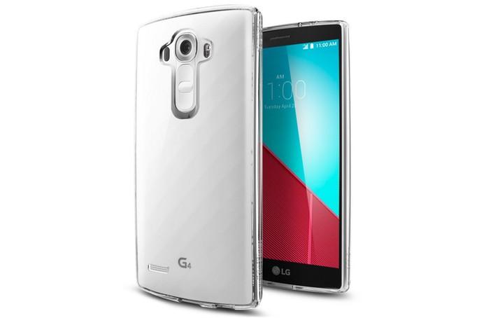 Capa transparente para proteger o LG G4 de forma discreta (Foto: Divulgação/Spigen)