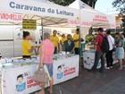 Boituva recebe a 'Caravana da Leitura' na praça da Matriz