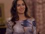 Teaser: Luciana se arruma toda para sair com amigo misterioso
