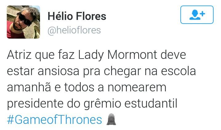 lady mormont (Foto: Reprodução/Twitter)