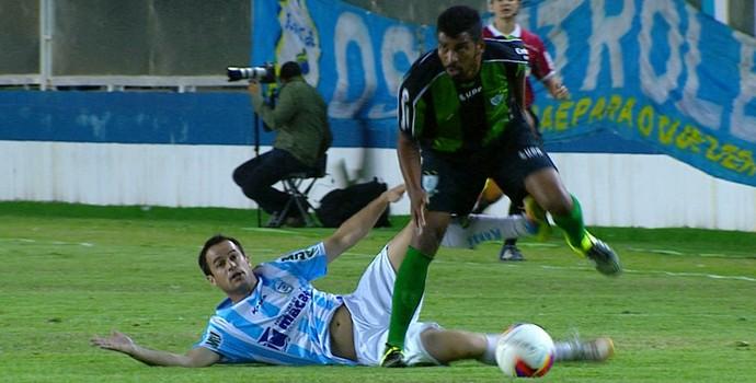 Macaé x América-MG (Foto: Reprodução/PFC)
