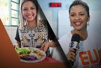 Aline Vieira perde 11kg e exibe mudança no ar (Editoria de arte)