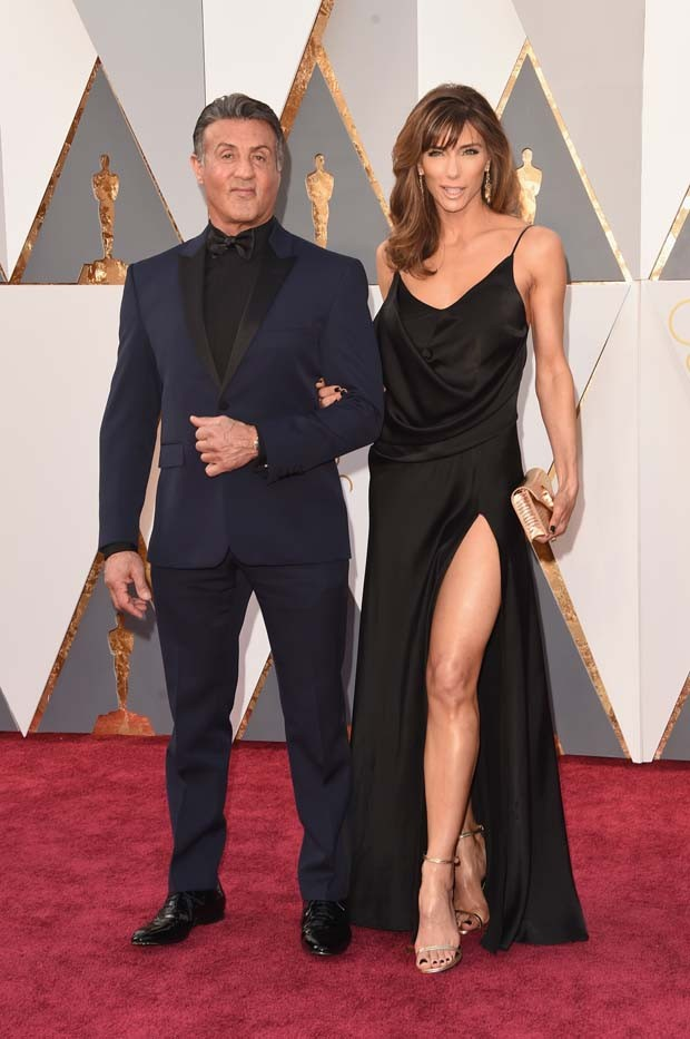 Sylvester Stallone e sua mulher, Jennifer Flavin (Foto: Getty Images)