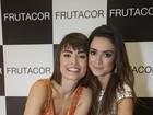 Thaila Ayala e Maria Casadevall prestigiam coquetel de grife em MG