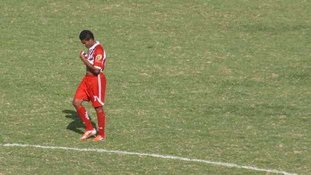 Caíque, atacante do Botafogo-SP (Foto: Cleber Akamine / globoesporte.com)